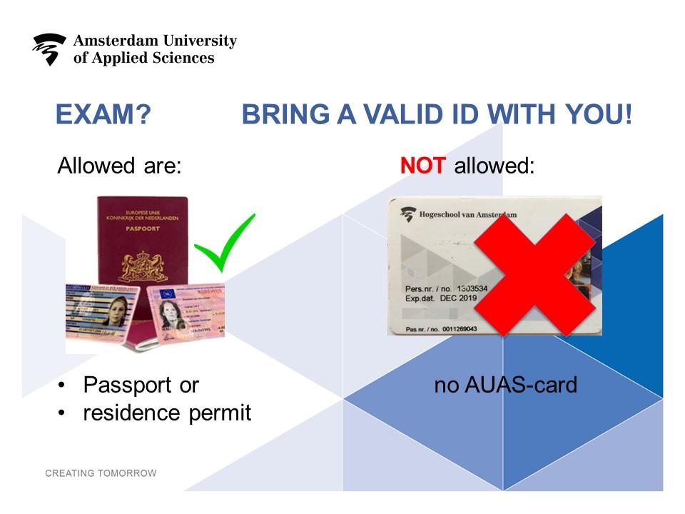 Examinations and exam resits AMSIB | HvA - Amsterdam