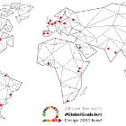 Worl map Global goals jam