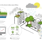 Illustration Resilio, Resilience Network of Smart Innovative Climate-Adaptive Rooftops