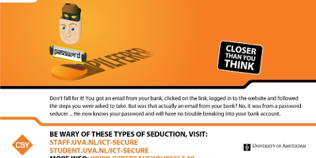 Watch out for fake emails: phishing and ransomware - Amsterdam